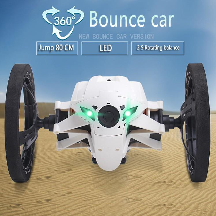 Mini Bounce Car SJ80 RC Cars 4CH 2.4GHz Jumping Sumo RC Car with Flexible Wheels Remote Control Robot Car