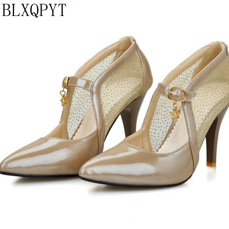 Big Plus Size 28-52 women shoes high heels pumps sapato feminino spring summer style wedding party shoes chaussure femme 205 2017 new arrival top medium b m plus size ladies shoes women high heel pumps sapato feminino summer style chaussure femme 8816