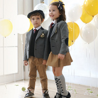 Children S School Uniform New Autumn Winter Boys Girl School Uniform Brand Children 3pcs Clothing Sets