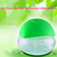 2016 Latest Water Wash Air Dust Purifier For Home Office Portable Dusting Air Cleaner Refresher Humidifier With Led Light