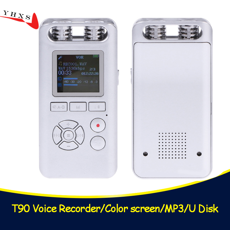 Professional Smart 8GB Digital Voice Recorder Audio Recording Pen Remote Sound Control Noise Reduction Stereo Loseless Music MP3 кабель hdmi 3 0м vcom telecom cg526s 3mr