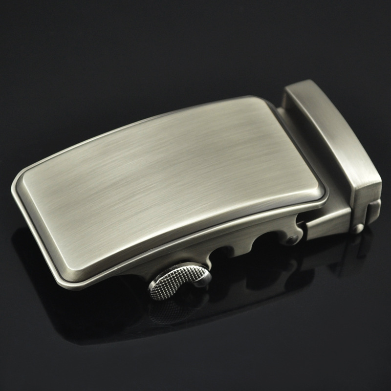 Men Metal Automatic Buckle For 3.5cm Ratchet Men Apparel Accessories Belt Buckles Luxury Fashion No Belt LY125-0677
