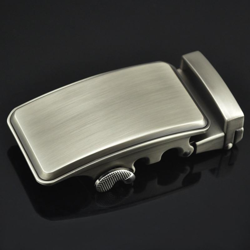 Men Metal Automatic Buckle For 3.5cm Ratchet Men Apparel Accessories Belt Buckles Luxury Fashion No Belt LY125-0677