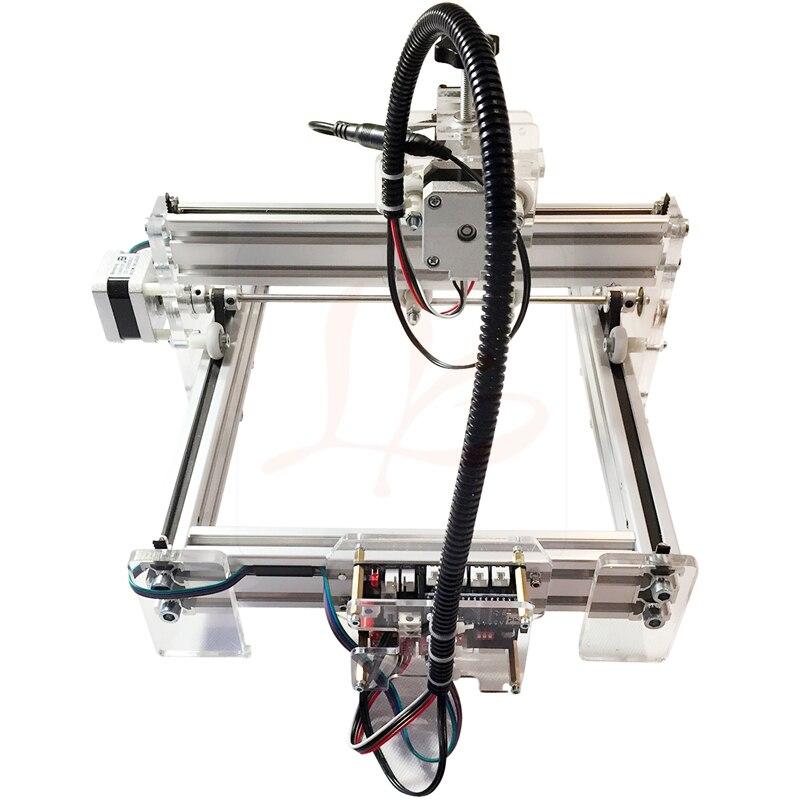 500mW Desktop DIY LY 2017 Laser Engraving Machine CNC Laser Cutting Machine 20*17CM - 3