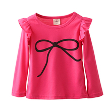 Kids Baby Clothing Long Puff Sleeve For 2-10 Years
