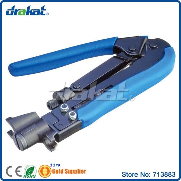 Coaxial Cable F Connector Crimping tool RG59 RG6 RG11 TL-H548A