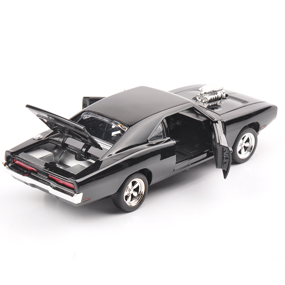 132 the fast and the furious 7 dodge charger alloy diecast car models kids