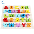 XFC Children 3D Mini DIY Puzzle Kid Educational Toy Alphabet Letters Puzzles Jigsaw Baby Bricks Educational Toy Colorful