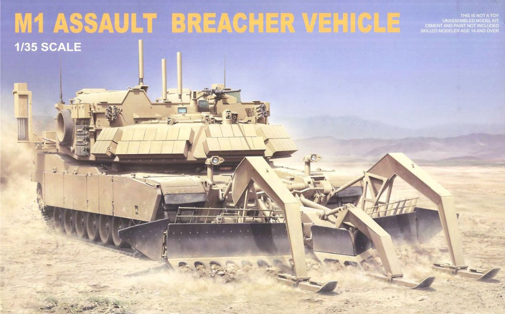 1 35 Scale RMF RM 5011 M1 ABV Assault Breacher Vehicle Plastic Model Building Kit
