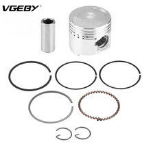Sepeda motor 39mm Piston Rings Kit Majelis untuk GY6 50CC Horizontal Mesin Scooter Moped(China)