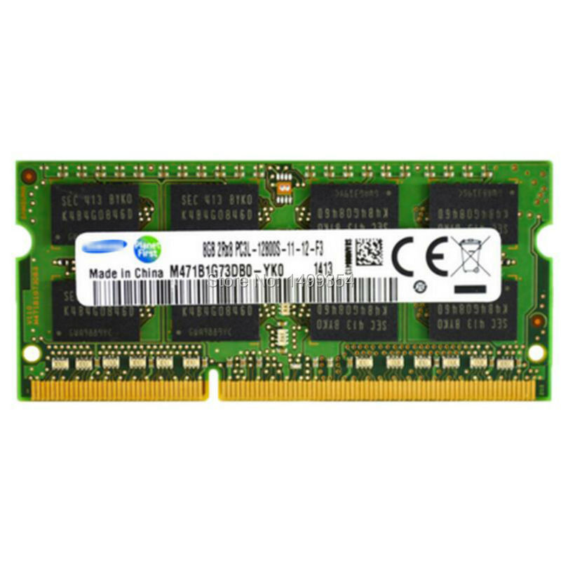 New Laptop RAMs For Lenovo S400 Y400 Y500 G400 DDR3 1600MHz 12800S 8GB RAM Memory Chip Bar hot sell brand new for g skill ddr3 1600 8g 2 ram for desktop computer overclocking f3 12800cl10d 16gbxl