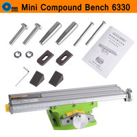 Mini Multifunctional Cross Working Table Bench Vise Manual Tools X Y Axis Adjustment Table For Drilling