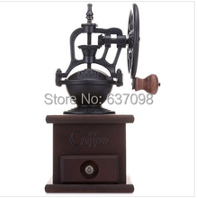 цена на china guangdong Manual Coffee Grinder   iron core hand grinding coffee beans grinder 85019 free shipping