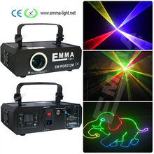 Mini 1.2w RGB laser 3D galvo scanner projector ILDA DMX dance bar Xmas Party Disco DJ effect Light stage Lights Show system(China)