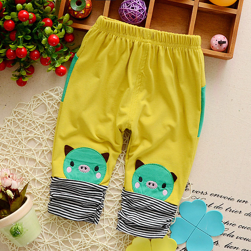 IENENS Girl Mid-Pants Bottoms Toddler Baby-Boys-Girls Trouses Kids Cute Infant Cartoon