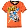 summer children baby boy clothes retail short sleeve print cartoon boy t-shirt nova kids wear 2016 clothing boy t-shirt top sale