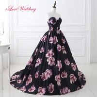 Çiçek Baskılı Abiye Balo Kapalı Omuz Sevgiliye Saten Bandaj Abiye giyim stok ABD 2-16 hızlı Kargo