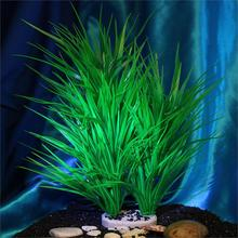 Plant Fish Tank Ornament Simulation Artificial Plastic Leeks Grass Aquarium Decoration