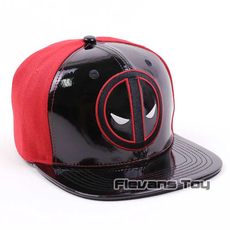 d669485ea22 Cool Fashion Marvel X men Deadpool Snapback Caps Leather and Cotton Baseball  Cap Men Boy Hip hop Hats-in Baseball Caps from Apparel Accessories on ...