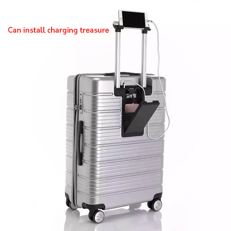 LeTrend Multifunction USB Charging Rolling Luggage Spinner Password Trolley 24/28 inch Suitcase Wheels Women Cabin Travel Bag