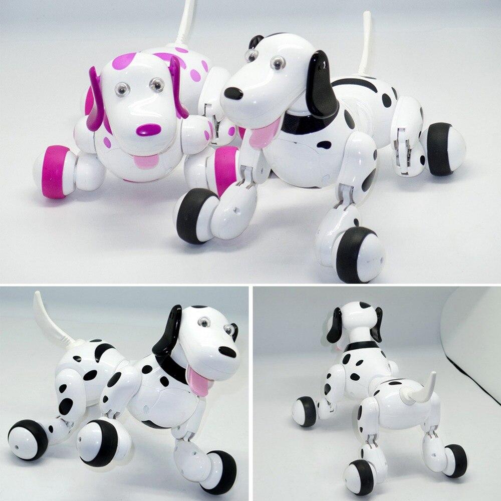 Космическая машина собака Детские игрушки 2,4 г беспроводная умная радиоуправляемая собака головоломка Электрический танец программируемый мультфильм подарок игрушка для малыша