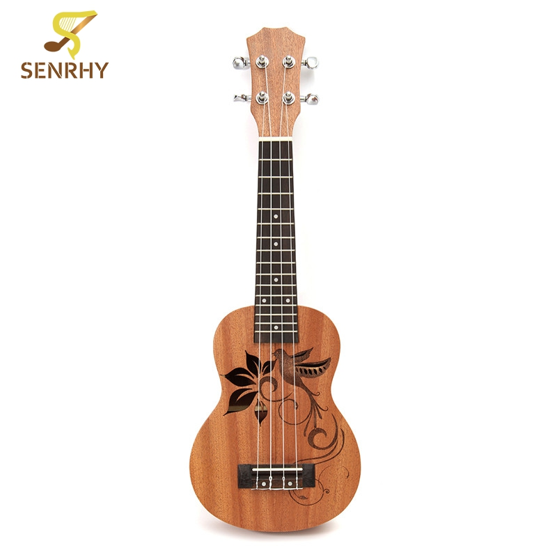 21 inch 15 Frets Soprano Ukulele with Sapele Rosewood 4 Strings Acoustic Guitar For Beginners or Basic Players Guitarra Gift21 inch 15 Frets Soprano Ukulele with Sapele Rosewood 4 Strings Acoustic Guitar For Beginners or Basic Players Guitarra Gift
