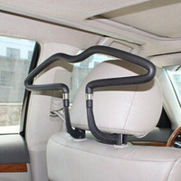 1pc Stainless Steel Car Auto Seat Headrest Coat Hanger Clothes Jackets Suits Holder Car Styling