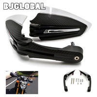 Motorcycle Handguards Protector Hand Guard With LED Turn Signal Running Lights For MT07 MT09 MT 07 MT 09 2013 2014 2015 2016