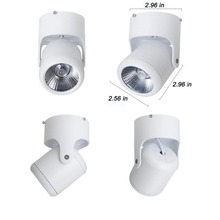 1pcs Ceiling 7W 10W Surface Mounted Led Lamp Panel Downlights For Bathroom Lighting Ac85-265v With Driver