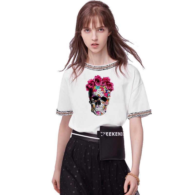 Nicediy Herz Patch Blume Kleidung Applique Eisen Auf Patches Impressionismus Wärme transfer DIY T-Shirt Kleidung Aufkleber Waschbar