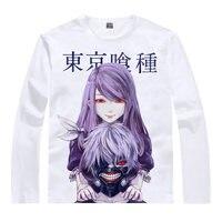Ken Kaneki T-Shirt Freshman Kaneki Ken Shirt Anime Cosplay kawaii t-shirt Long t-shirts for boy lolita anime cosplay t-shirt a