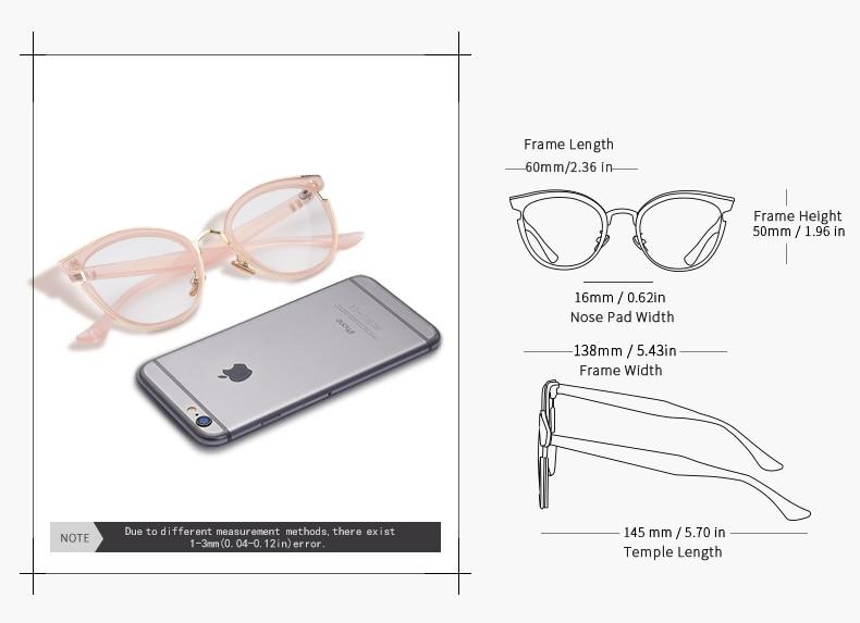 e7f4415ed3 AOFLY BRAND DESIGN Elegant Style Cat Eye Eyeglasses Frame Reading ...