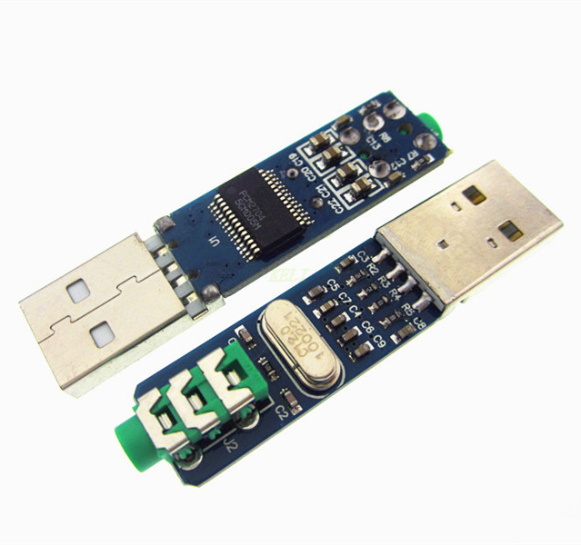 5V Mini PCM2704 USB DAC HIFI USB Sound Card USB Power DAC Decoder Board Module Звуковая карта