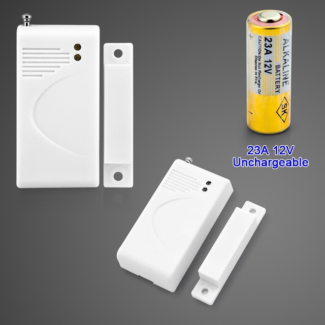 433MHz Wireless Door Window Sensor for GSM SMS Home Alarm System Security DIY Comply with SACAM : wireless door - pezcame.com