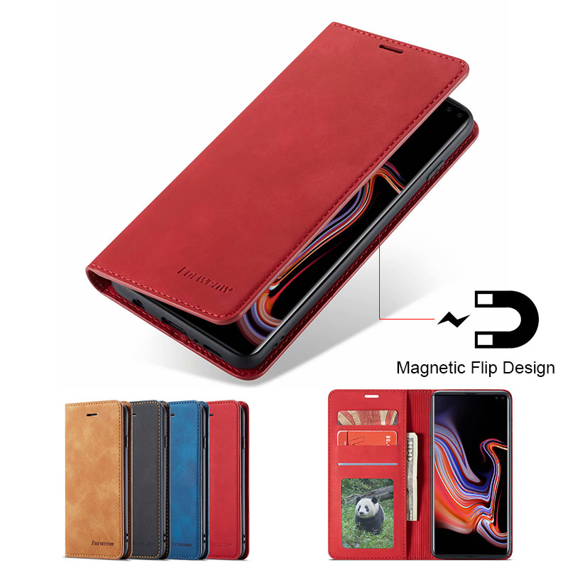 S10 S10e S9 S8 Plus Case For Samsung A20 A30 A40 A50 A60 A70 Case On Samsung Galaxy A6 A7 A8 2018 Case Flip Leather Wallet Cover