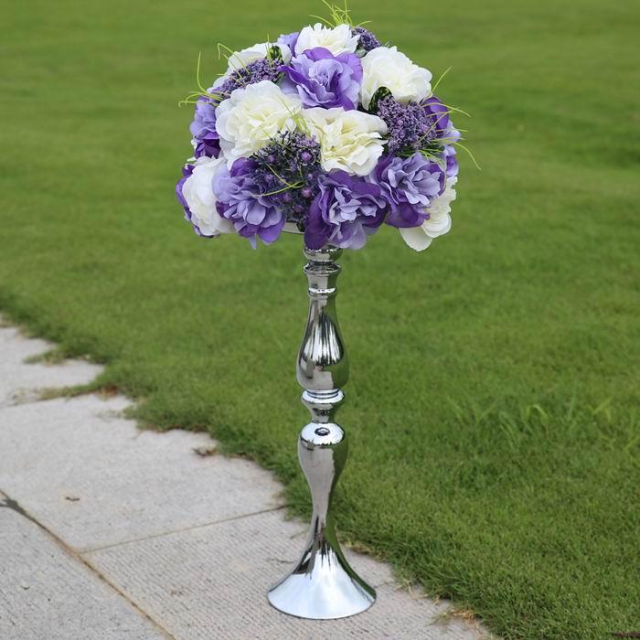 Set Of 10 Country Garden Flower Seed Wedding Favours With: SPR !! 30CM DIA. FLOWER+47CM FLOWER Shelf Set High End