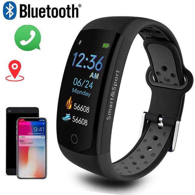 สมาร์ทนาฬิกาผู้ชาย 3D แบบไดนามิก UI Dial อัจฉริยะกีฬาฟิตเนสสายรัดข้อมือ montre Homme GPS กล้อง IOS Android สมาร์ทนาฬิกา