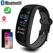 Montre intelligente hommes 3D dynamique UI cadran Intelligent portable Fitness Sport bracelet montre homme GPS caméra IOS Android montre intelligente