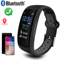 Smart Watch Men 3D dynamic UI Dial Intelligent Wearable Fitness Sport Wristband montre homme GPS Camera IOS Android Smart Watch