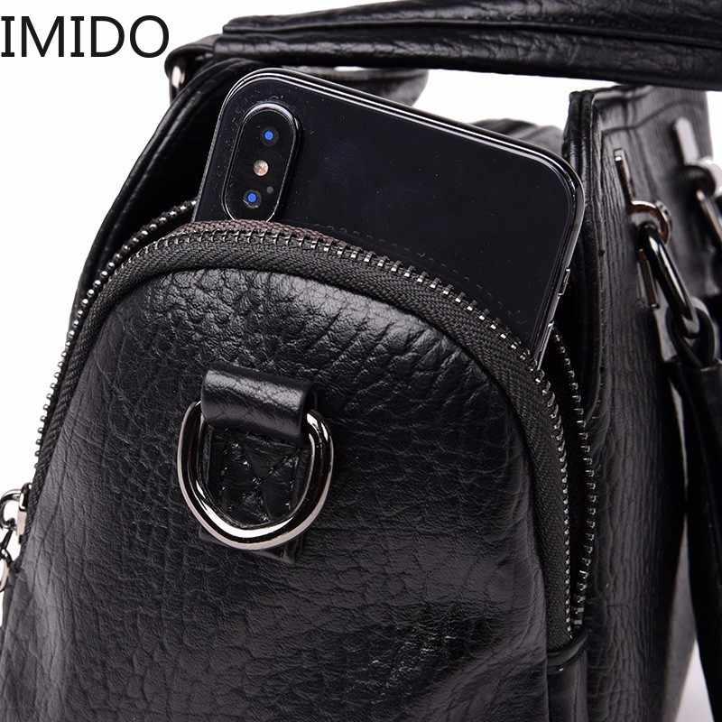 Sac A Principal bolsa de 2019 Bolsas De Luxo Mulheres Sacos Designer de Marca Feminino Top-alça de Couro Bolsa de Ombro Bolsas de Mão Do Vintage saco Das Senhoras