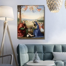 The Nativity by El Greco Decor Wall Art Canvas Poster and Print Canvas Painting Decorative Picture for Living Room Home Decor the nativity
