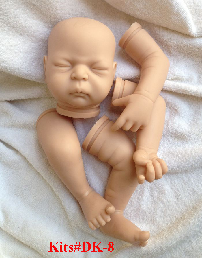SHINEHENG Doll Kits For 21inches Lifelike Soft Vinyl Reborn Dolls Parts Baby Alive Accessories For DIY Realistic Toys DK-8