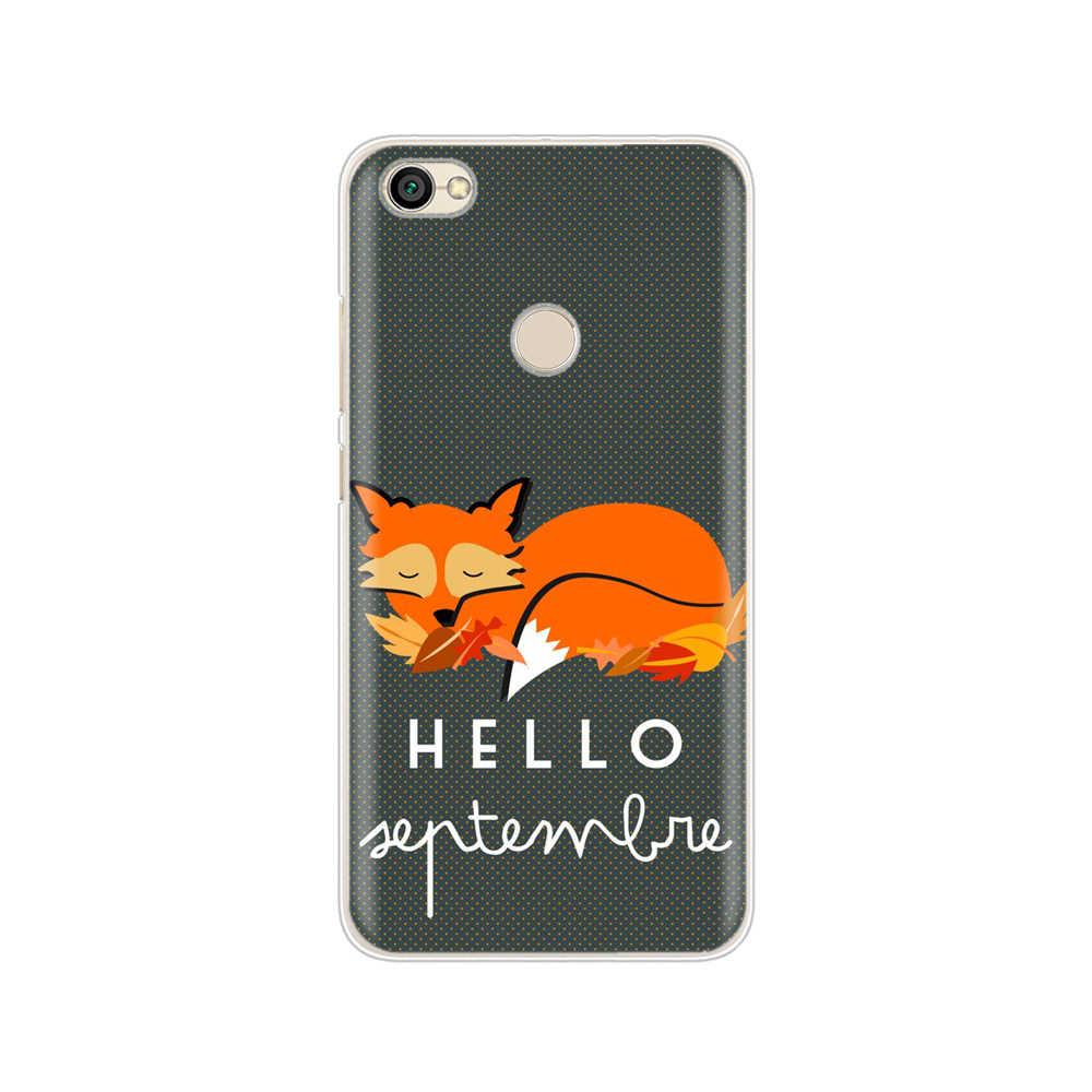 HAMEINUO chytry lis cute animal pokrowiec na telefon obudowa do Xiaomi redmi 4 1 1 s 2 3 3 s pro redmi note 4 4X 4A 5A