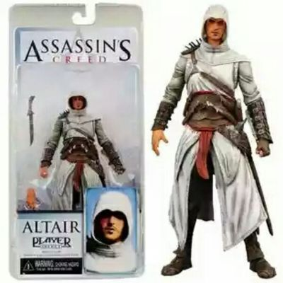 "15cm NECA <font><b>Assassins</b></font> <font><b>Creed</b></font> 7"" <font><b>Assassin's</b></font> <font><b>Creed</b></font> 1 Altair Player PVC <font><b>Action</b></font> <font><b>Figure</b></font> Toy Free Shipping"