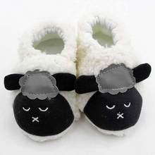 822849dad Новые детские милые плюшевые lamb Infant противоскользящие плюшевые первые  ходунки плюшевые новорожденных От 0 до 1 года фирменн.