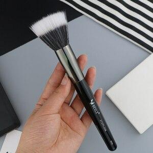 Image 4 - BEILI 1 adet sentetik saç tek büyük toz Fan krem vakıf Stippling kaplama tek makyaj fırçaları
