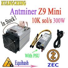 Le plus nouveau mineur Asic ZEC Antminer Z9 Mini 10 k Sol/s 300 W équihash avec 750 W PSU. Le Profit est supérieur à E3 G2 S9 L3 + D3 T9 +