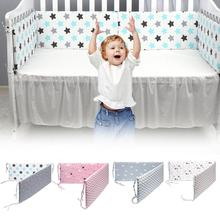 Anti-Collision Cushion Fence Pillow-A2 6 Piece Set Baby Breathable Mesh Crib Bumper Pad Rail Guard Cover Vertical Crib Liners Boys Girls Bed Safety Rail Protector Teething Guard Cartoon