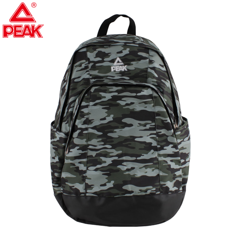 PEAK Sports School Bag Camouflage Mountaineering Bag Indoor And Outdoor Training Gym Bag School Backpack Camouflage