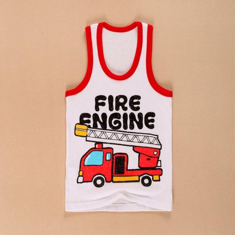 De Goedkoopste Prijs 1 Stks Retail! Babykleding Jongen Meisje Zomer T-shirt Vest Tank Tops 0-2years